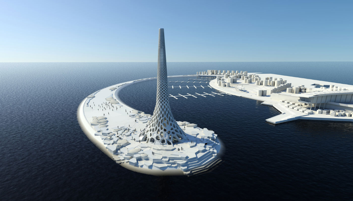 KAUST Breakwater Beacon | HKZ| ME design magazine