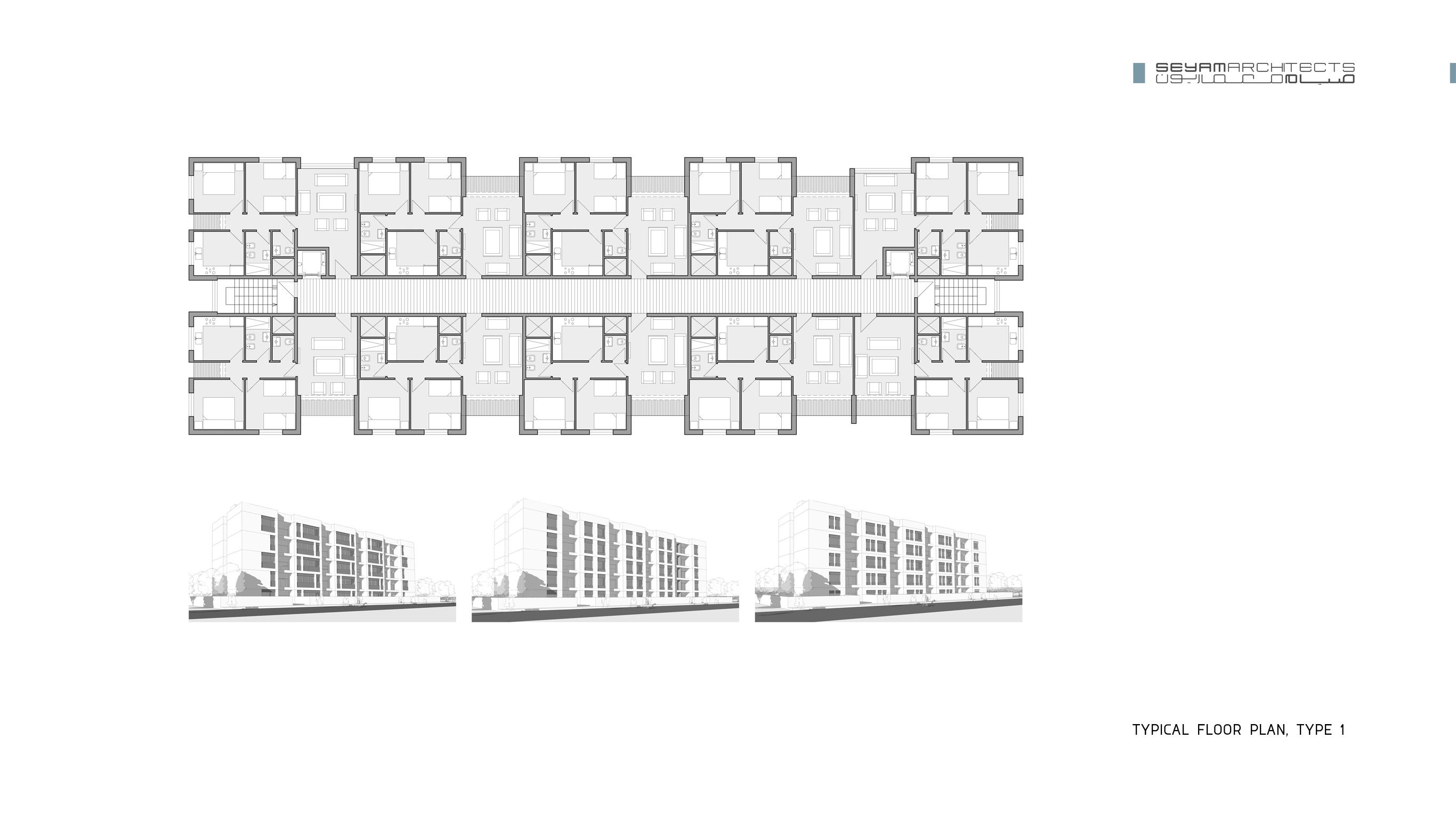 06 typical floor plan, type 1