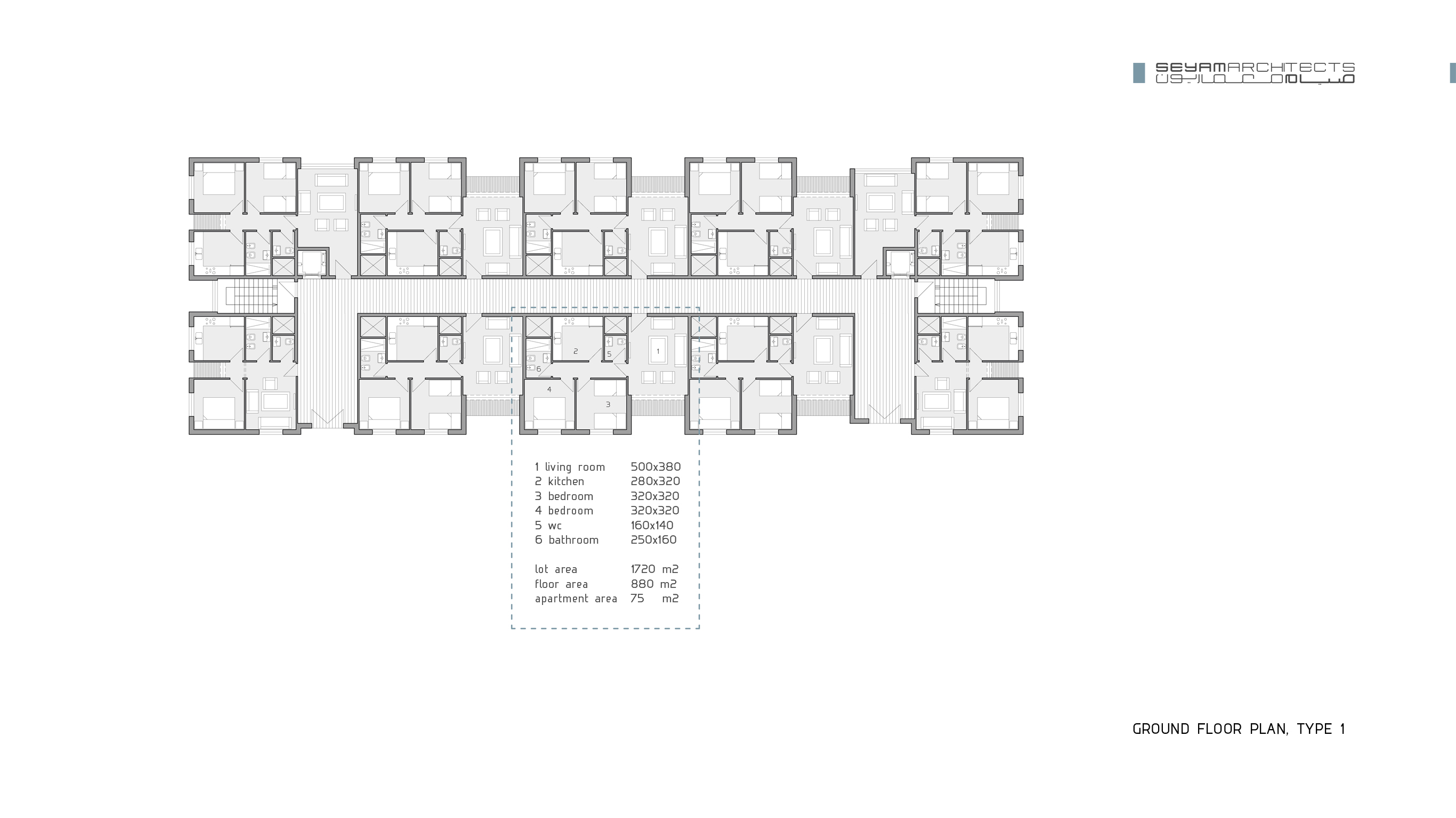 07 ground floor plan, type 1
