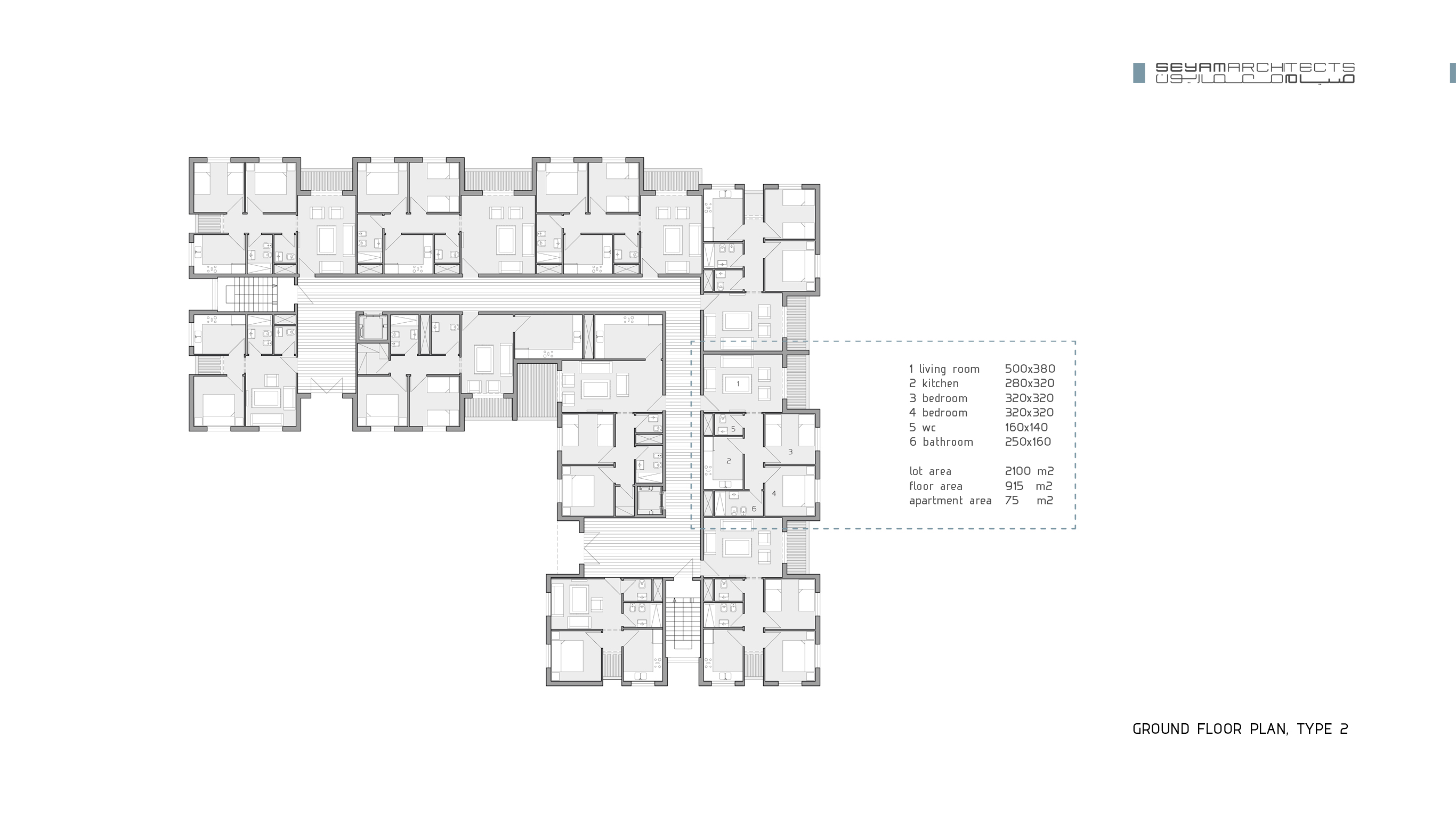 08 ground floor plan, type 2