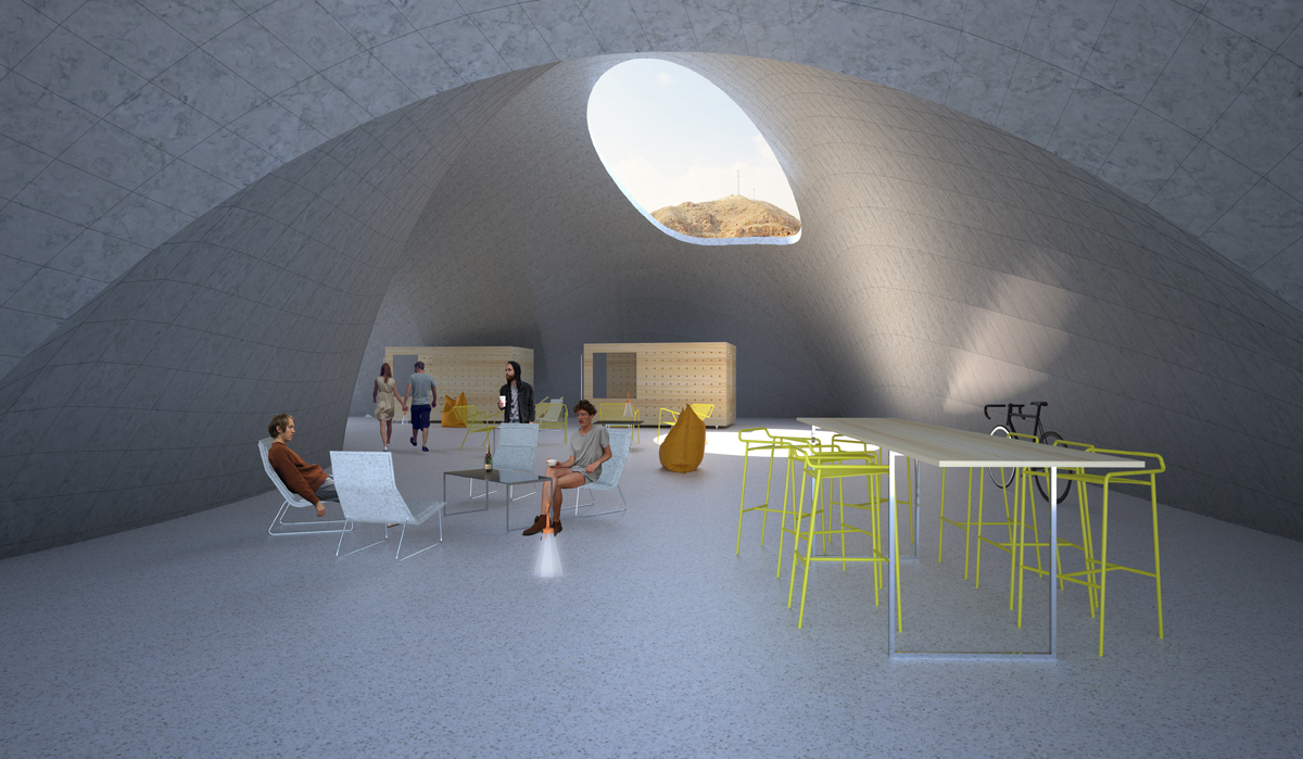 15- Living space perspective
