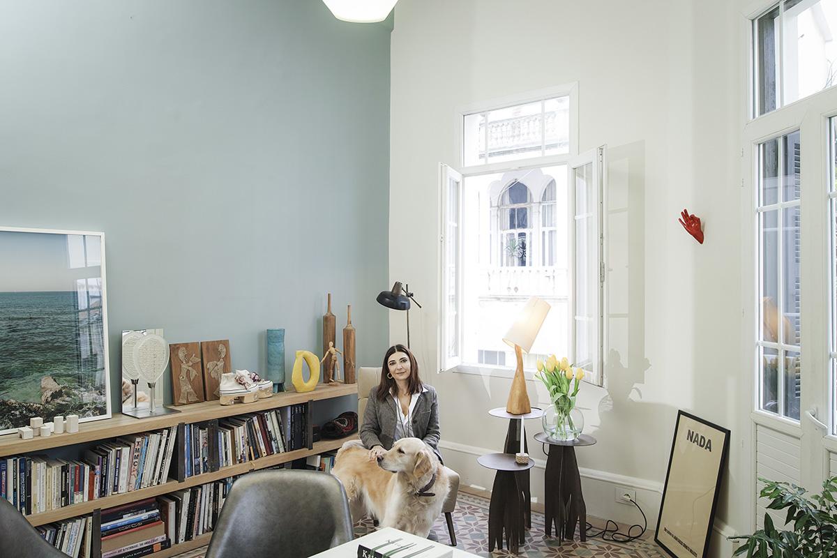 Fine The Handmade And The Heartmade Inside Nada Debs New Studio Home Interior And Landscaping Spoatsignezvosmurscom
