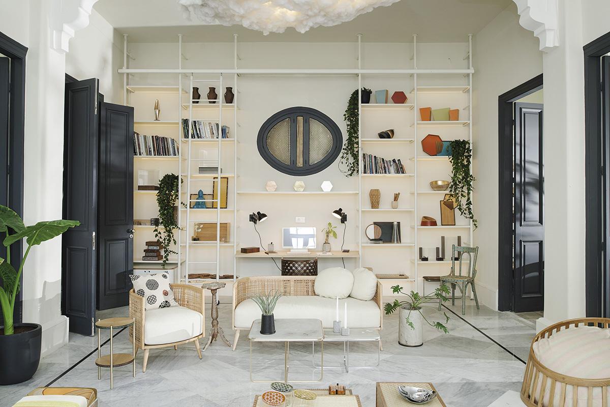 Phenomenal The Handmade And The Heartmade Inside Nada Debs New Studio Home Interior And Landscaping Spoatsignezvosmurscom
