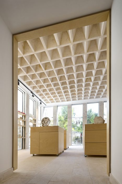 the flat stone vault a pioneering interlocking stone ceiling - How To Vault A Ceiling