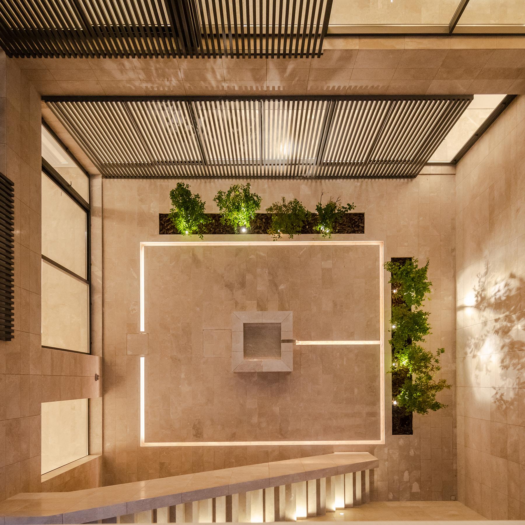 Open Courtyards In The House In Mishref Hkz Mena Design Magazine